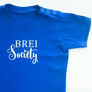 Baby Shirt Brei Society fire red 80/86